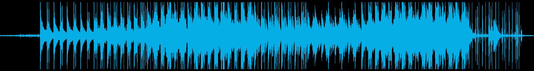 物悲しい雰囲気のLofihiphopの再生済みの波形
