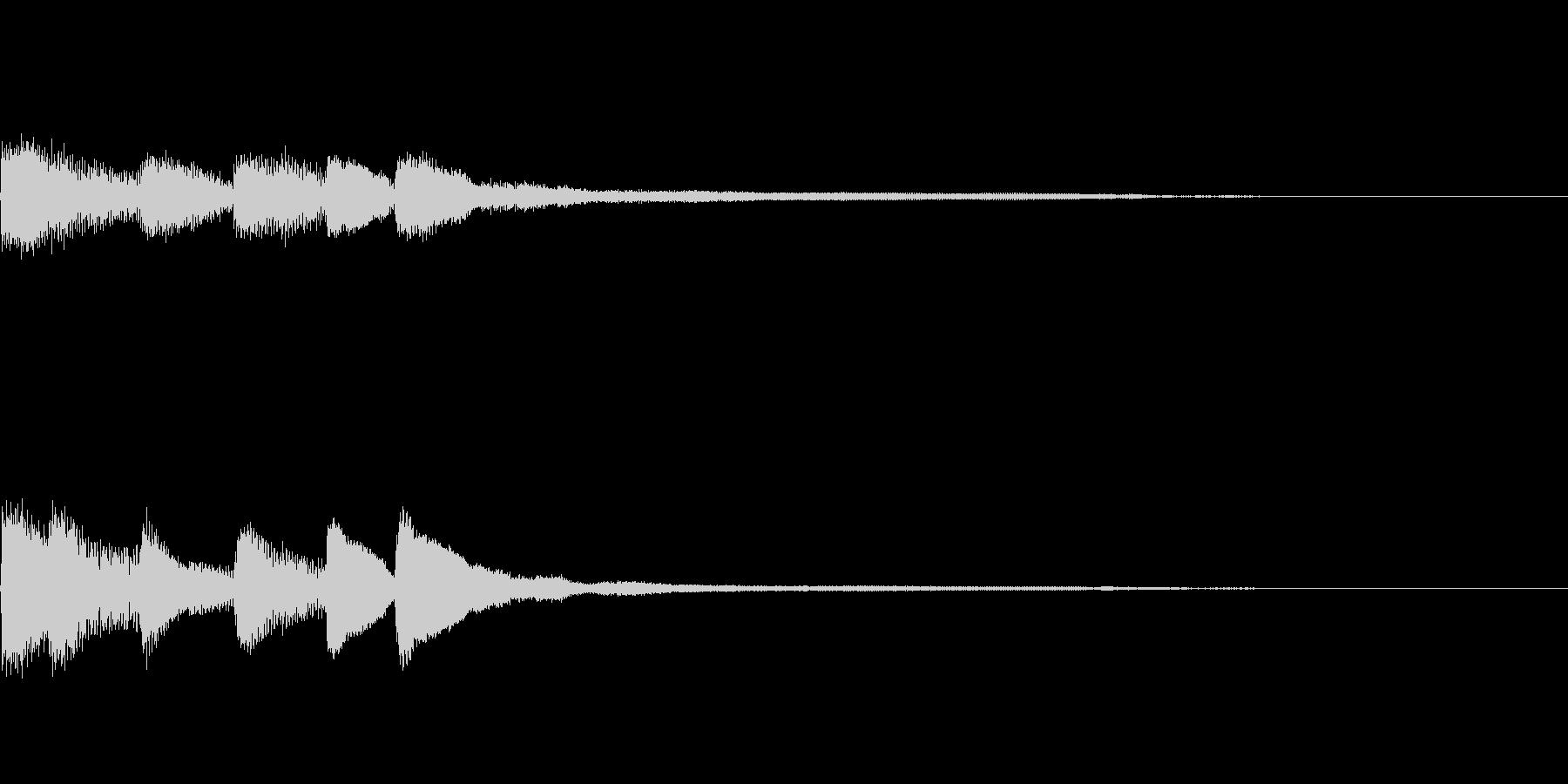 ピアノジングル01_dの未再生の波形