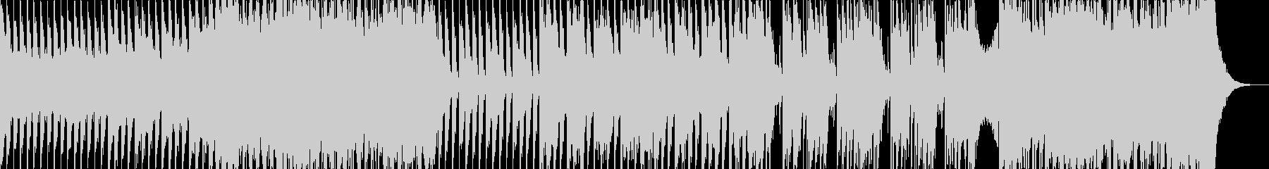 バイオリンとピアノのダンスナンバーの未再生の波形