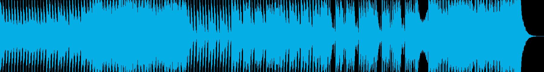 バイオリンとピアノのダンスナンバーの再生済みの波形
