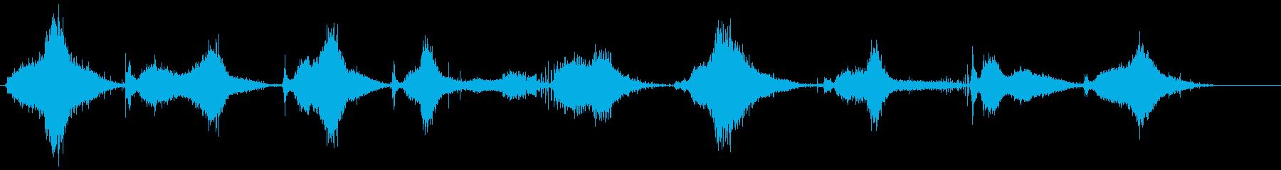 剛毛プッシュほうき:コンクリート、...の再生済みの波形