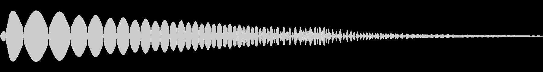 ぶにゅ、むにゅって感じのかわいい効果音の未再生の波形