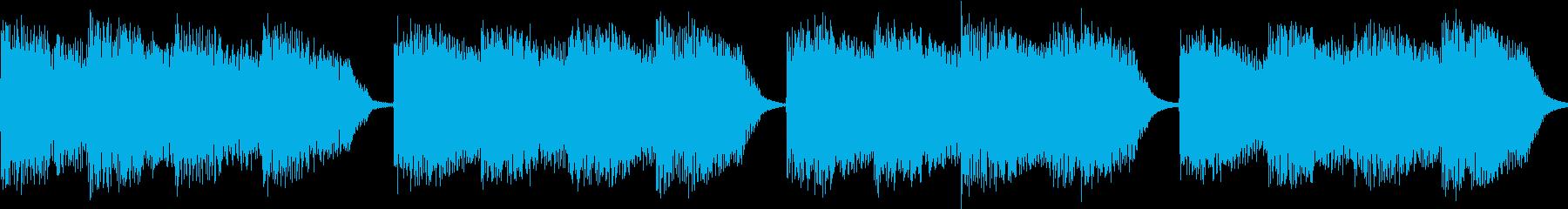 シンセ サイレン アナログ ピコピコ04の再生済みの波形