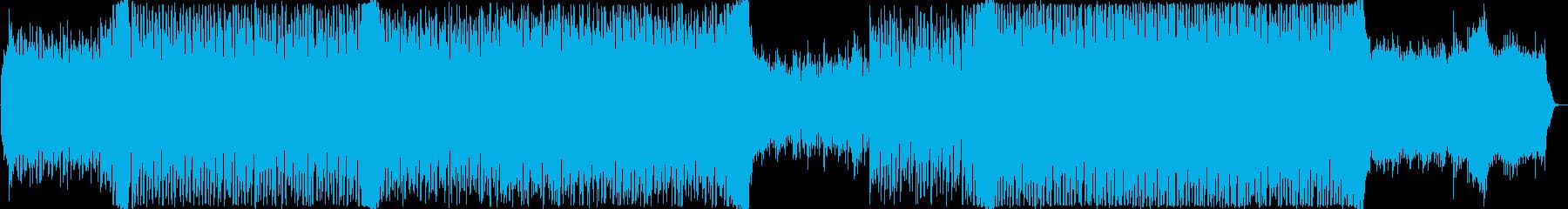 前向きでポジティブなEDMの再生済みの波形