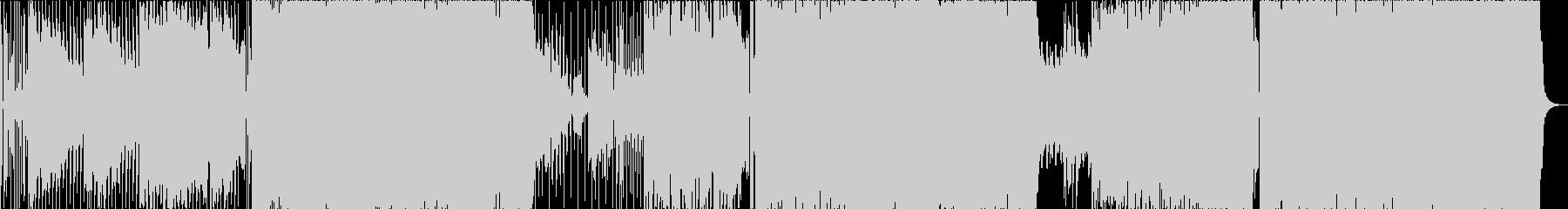 切ない系ポップスの未再生の波形