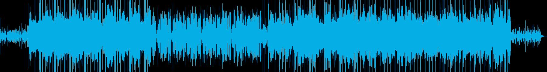 ローファイ、ヒップホップ、おしゃれの再生済みの波形