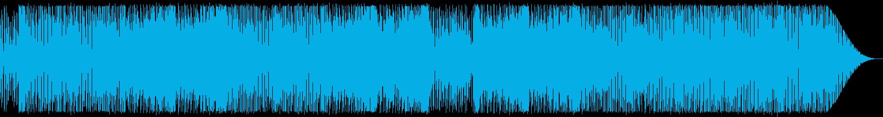 80年代テクノポップ中華風:フルの再生済みの波形