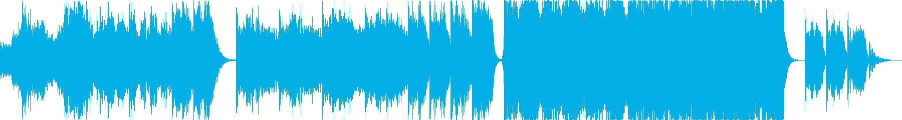 電気音響シンフォニー ポジティブ ...の再生済みの波形