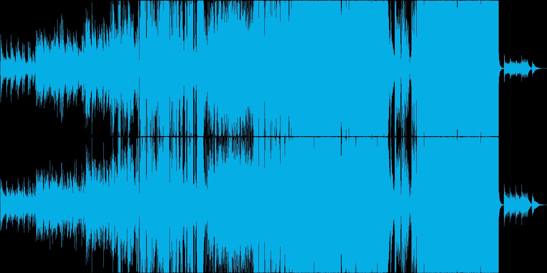 徐々に盛り上がるピアノ主の泣けるバラードの再生済みの波形