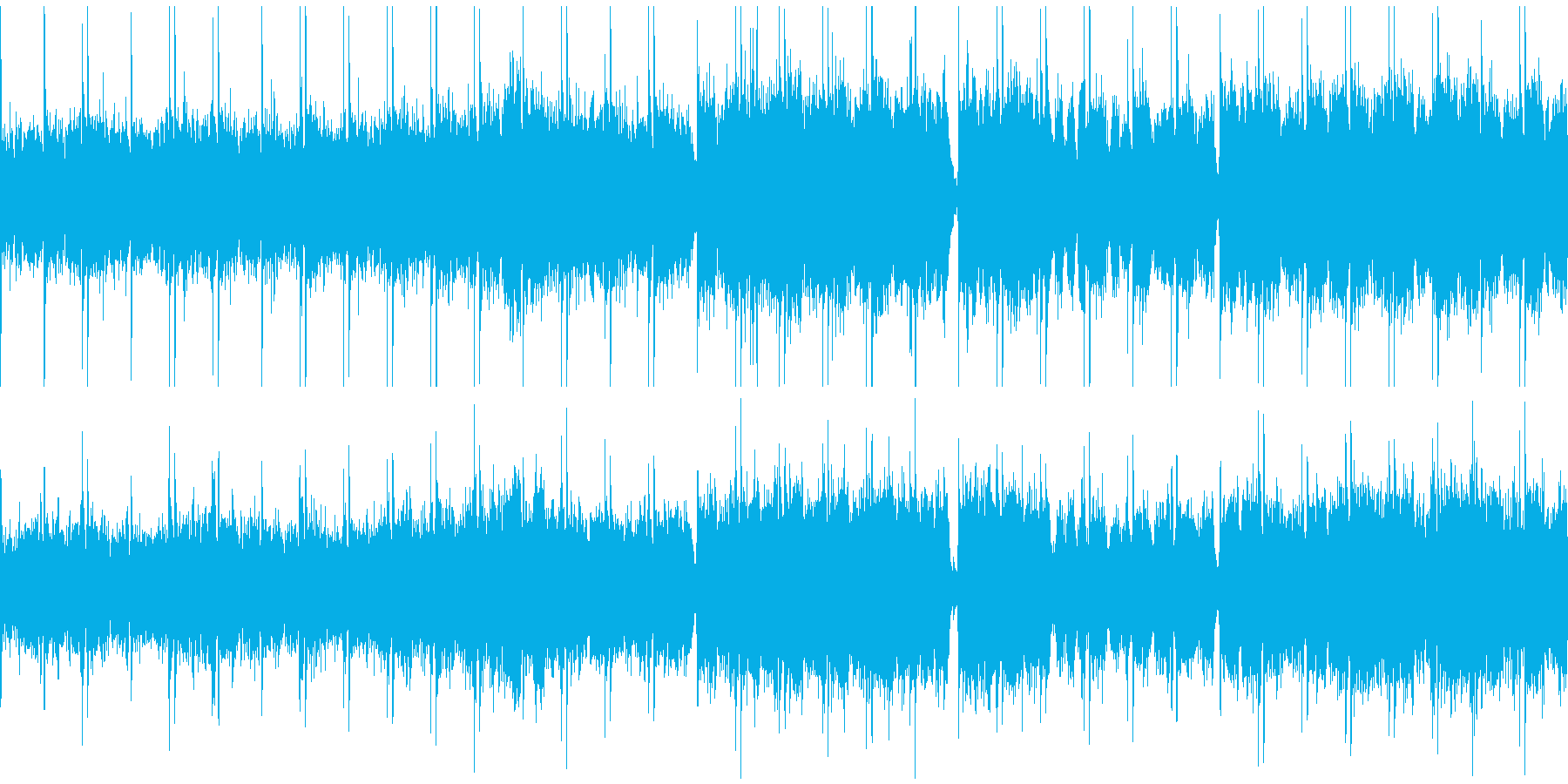 不気味な合唱曲。ゲームのダンジョン等にの再生済みの波形