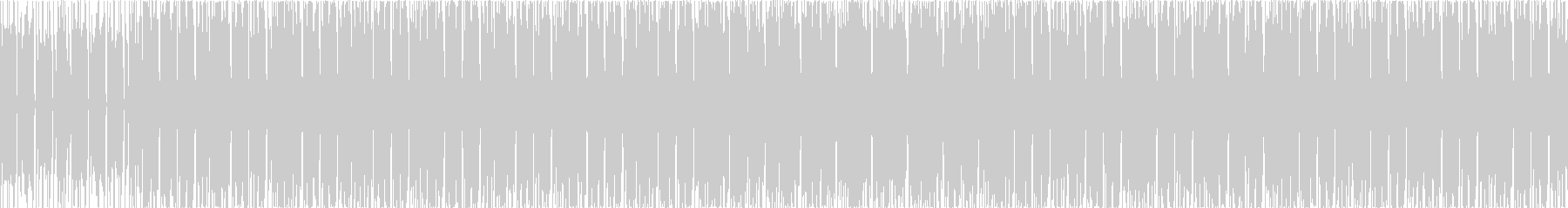 声ネタ入りHIPHOPTRACKの未再生の波形