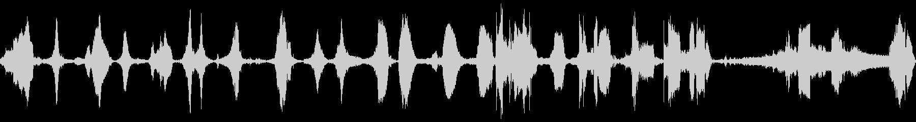 車のポンティアックドライブ複数の未再生の波形