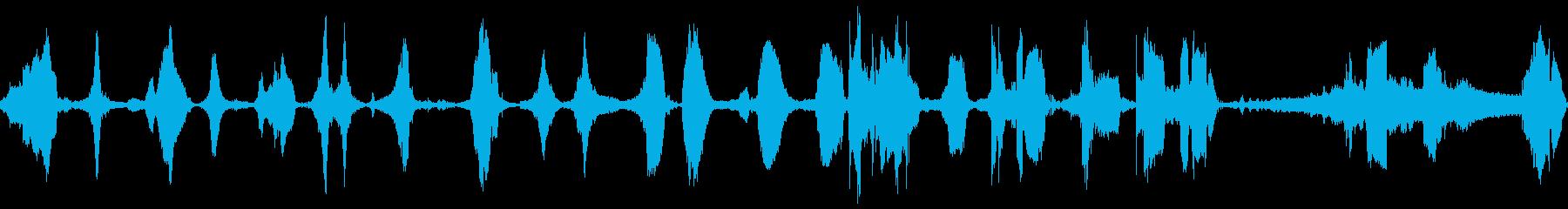 車のポンティアックドライブ複数の再生済みの波形