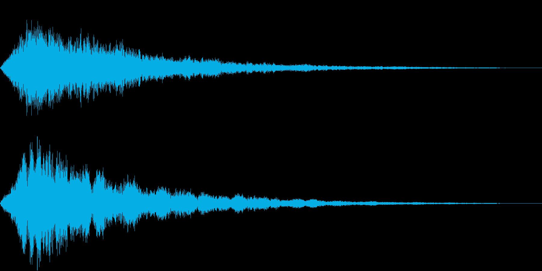 VOX ダーティーなコーラスPAD 2の再生済みの波形