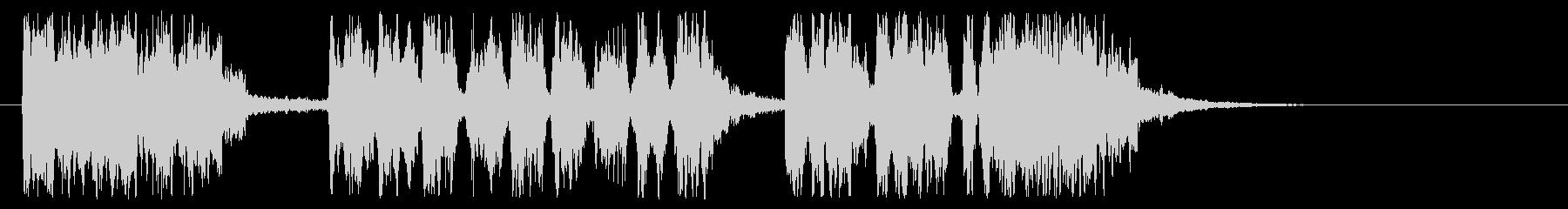 キリスト教のトランペットの未再生の波形
