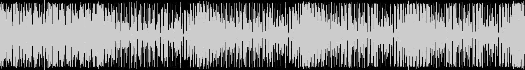 ダンスエクササイズBPM110:ループ版の未再生の波形