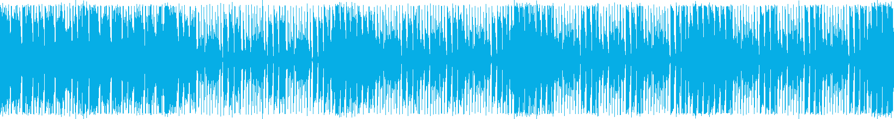 ダンスエクササイズBPM110:ループ版の再生済みの波形