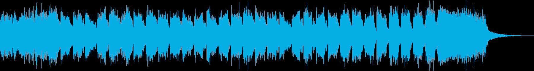 コマーシャルゴージャス派手ブラスロックcの再生済みの波形
