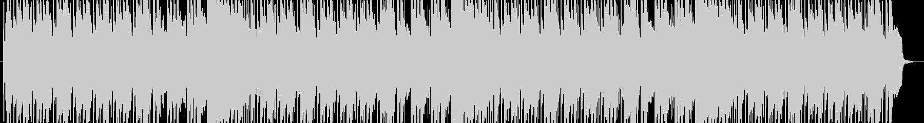 ハロウィンの不思議で怪しげな音楽の未再生の波形