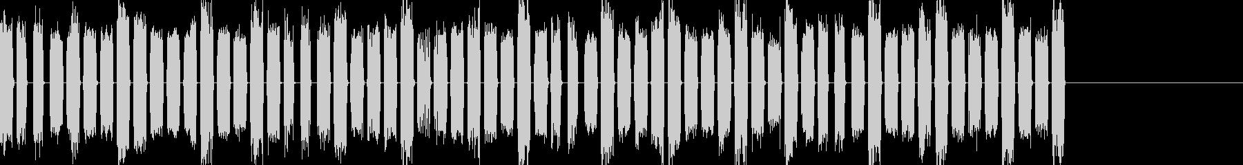 ロボット音03の未再生の波形