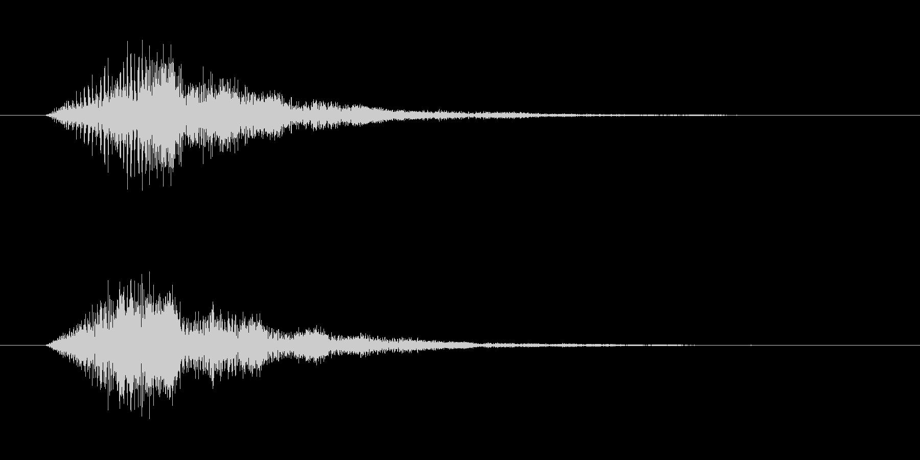 「タラァンッ」決定やスタートに使えるボ…の未再生の波形