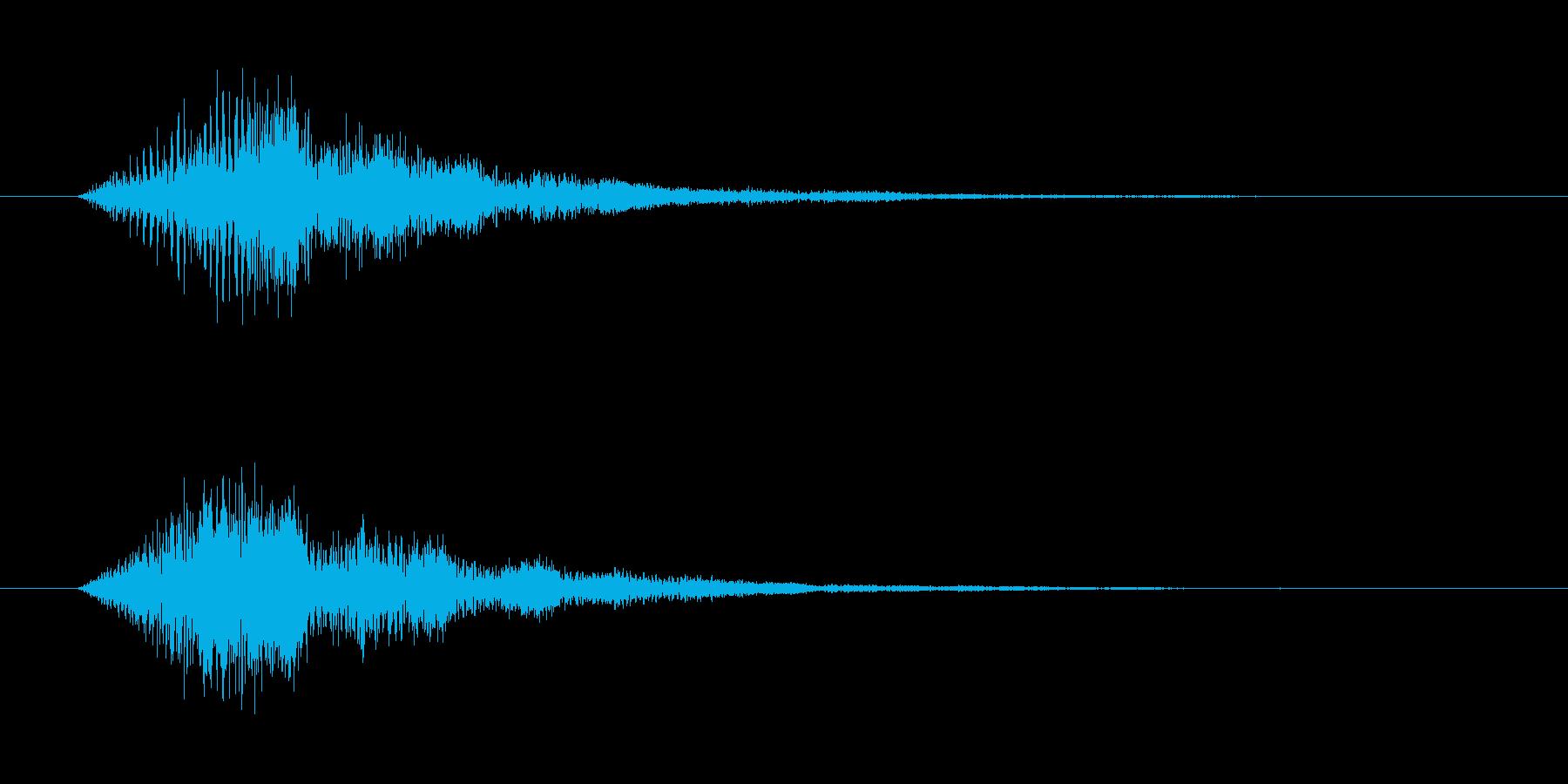 「タラァンッ」決定やスタートに使えるボ…の再生済みの波形