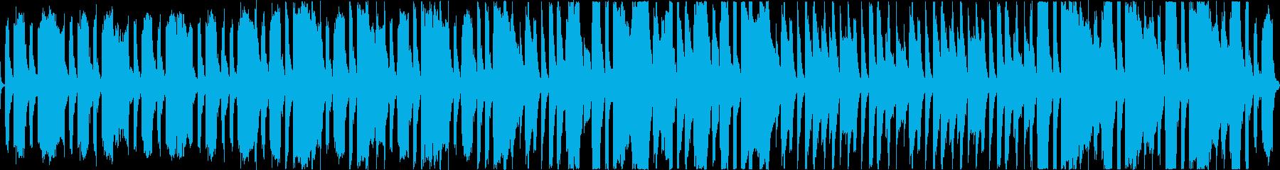 昭和のスケベ感「笑ゥせぇるすまん風」劇伴の再生済みの波形