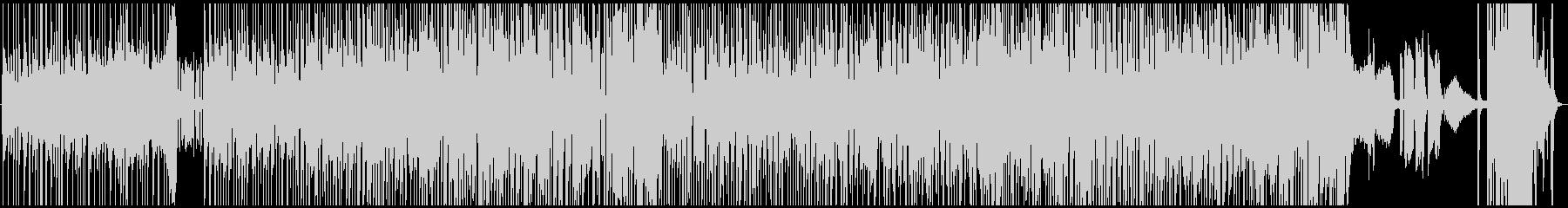 ジャズとファンクの融合。ファンクな...の未再生の波形