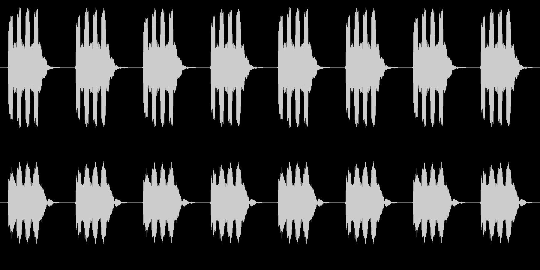 時計 アラーム03-03(遠い ループ)の未再生の波形