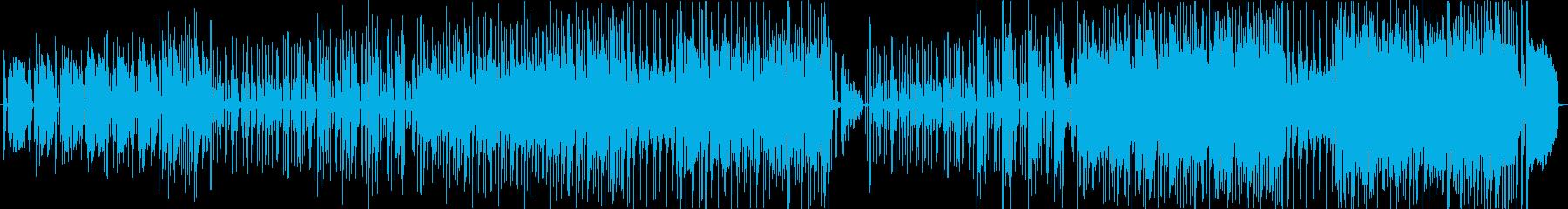 ウキウキした日常のEテレ風ファニーソングの再生済みの波形