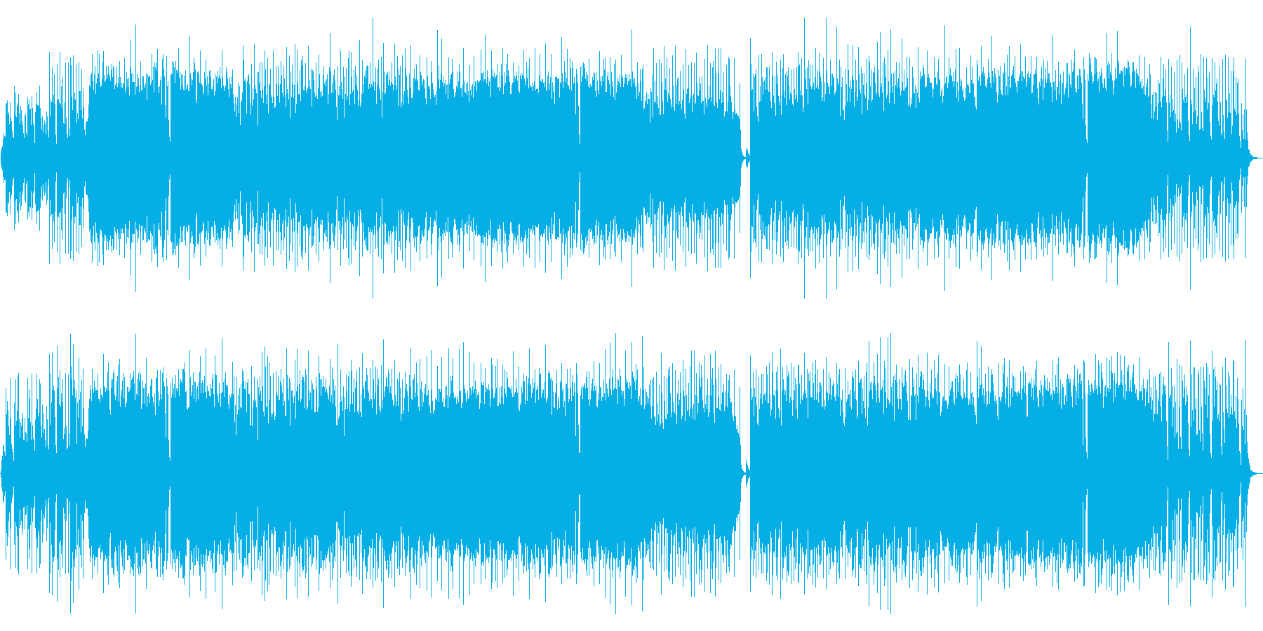 Bright and energetic OP wind performance violin's reproduced waveform