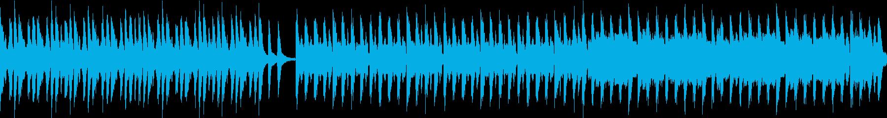 コミカル/静かめカラオケループ仕様の再生済みの波形