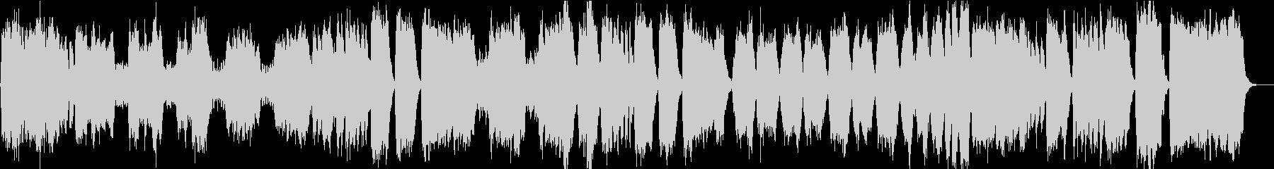 「ラ・ペリ」荘厳な式典向きファンファーレの未再生の波形
