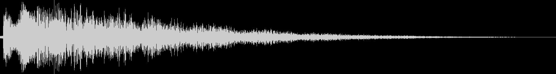 シャララーン(下がる、タイトル、ME)の未再生の波形
