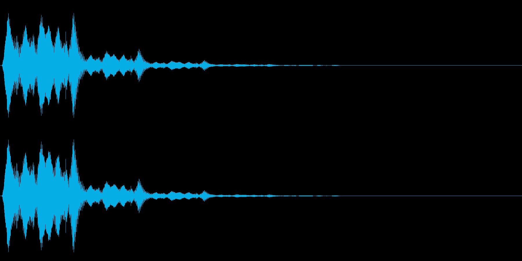 決定・空気感・暗め・ネガティブ3の再生済みの波形
