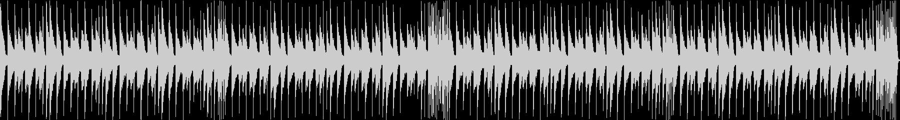 日常系 コミカルなピアノ曲の未再生の波形
