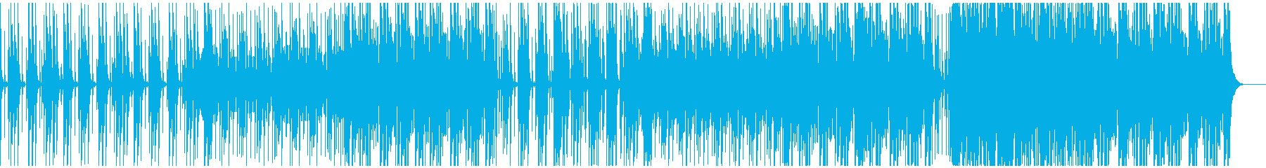 ゆったりテンポからサビはおけです。の再生済みの波形