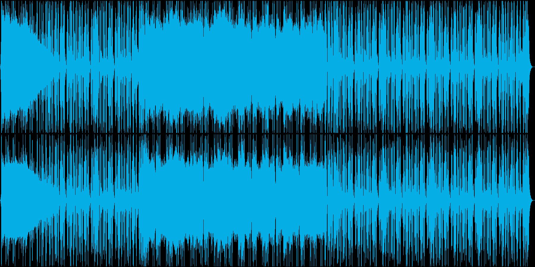 軽快で歪みの少ないバンドサウンドの再生済みの波形