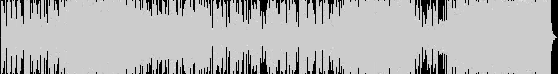 和風バトルBGMの未再生の波形