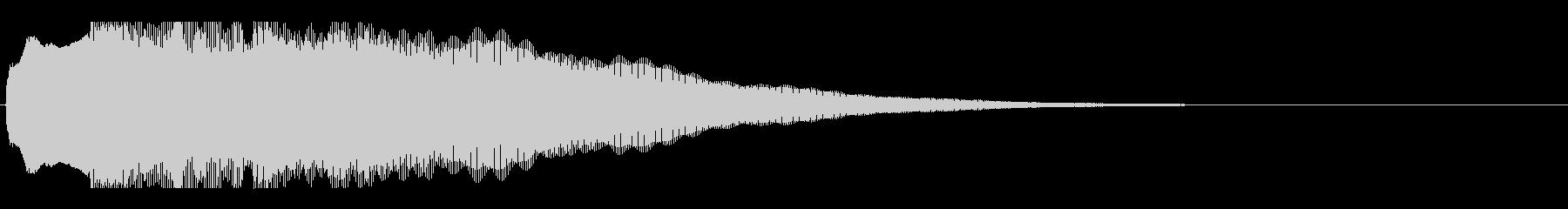 アナウンス前 チャイム-1_rev-1の未再生の波形