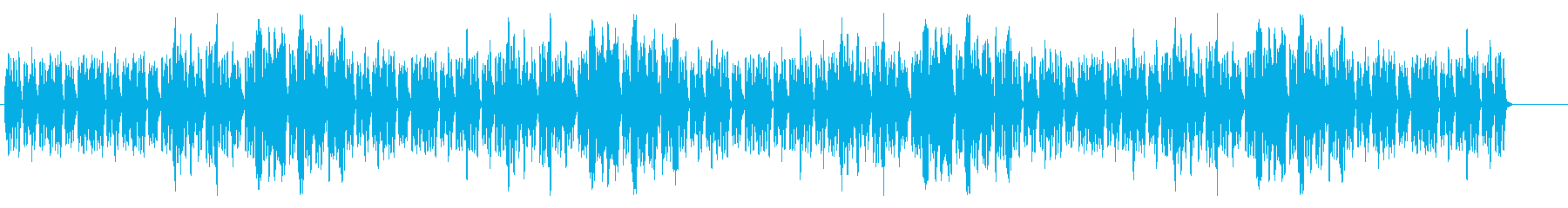 解説、説明の時の話を邪魔しないBGMの再生済みの波形