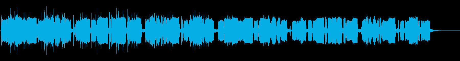和風オープニングBGM!琴&尺八の再生済みの波形