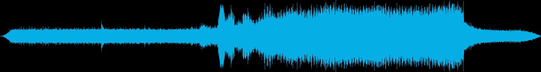 製材所:ラージバンドソー:アイドル...の再生済みの波形