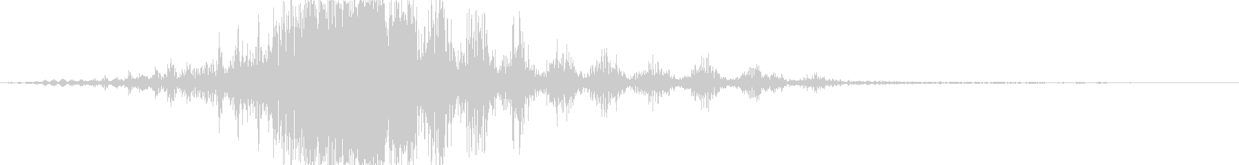 CINEMATIC WHOOSH 04の未再生の波形
