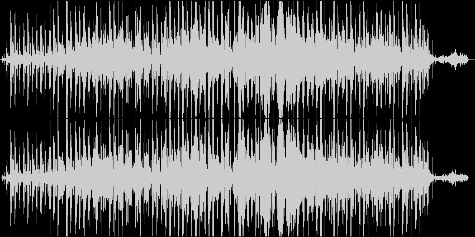 SWEET THINGの未再生の波形