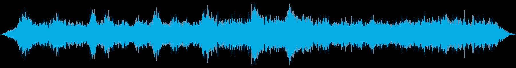 空間周波数の渦、遅いの再生済みの波形