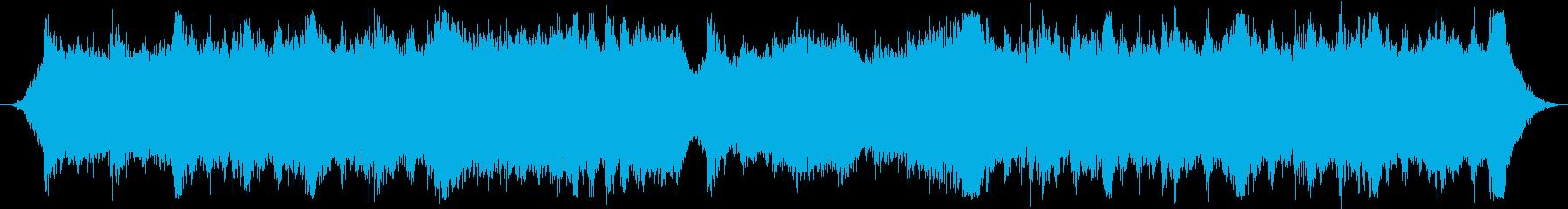 RPGの戦闘シーンにぴったりのフルオケ曲の再生済みの波形