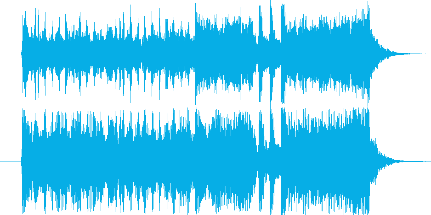 勇壮なファンファーレD・賞の発表・競馬風の再生済みの波形