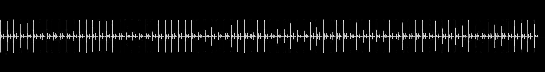 NORMAL BEAT、HUMAN...の未再生の波形