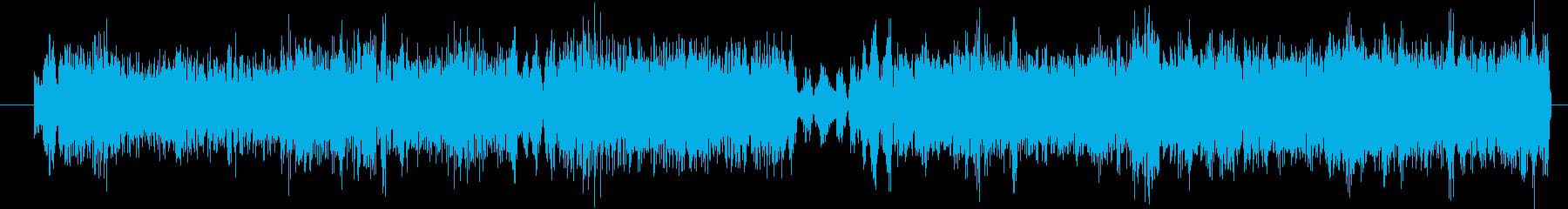 モンスター グリッチグロール03の再生済みの波形